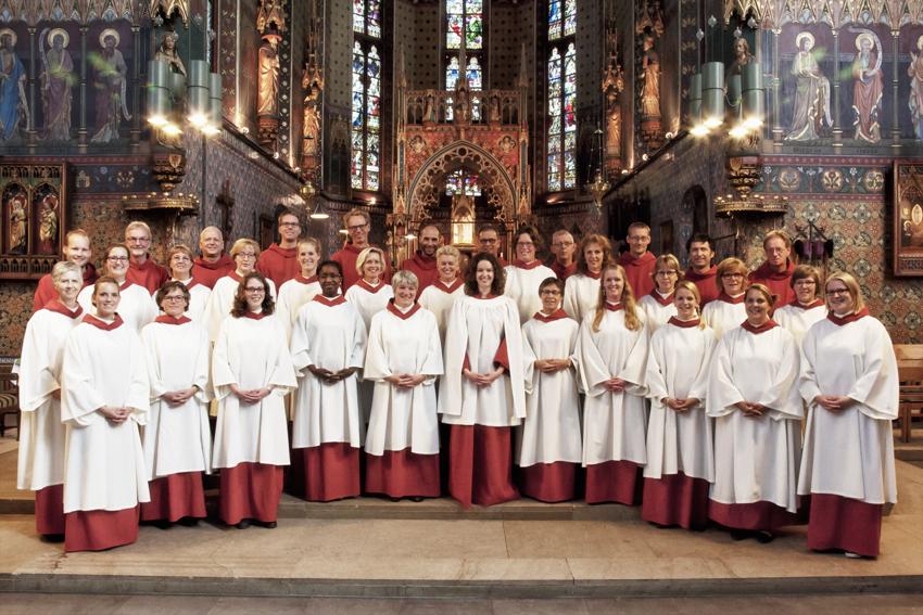 Anthem koor voor kerkmuziek